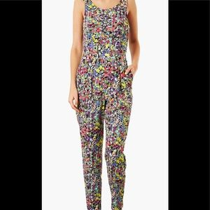 ❤️❤️TOP SHOP  Multi color POP Floral Jump Suit❤️❤️